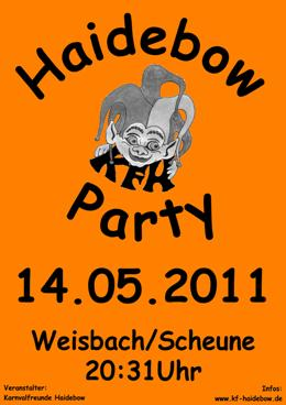 Haidebow-Party  2011
