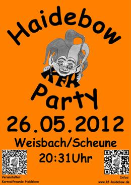 Haidebow-Party 2012