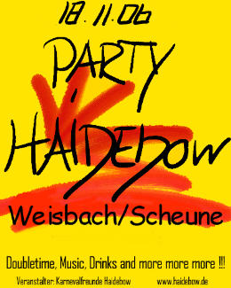 Haidebow-Party  2006